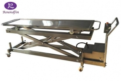 Stainless steel morgue body electrical lifter RD-1529E
