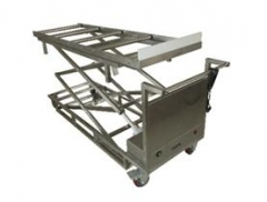 Two sissors morgue corpses transfer lifting cart RD-1531