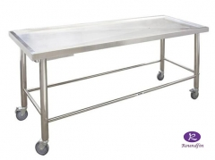Stainless steel dissecting table autopsy table RD-1552