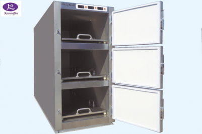 Morgue refrigerator with 3 rooms RD-3