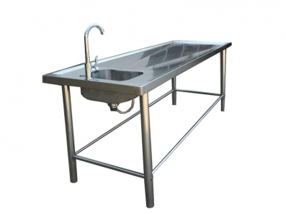 autopsy table Dissecting table stainless steel RD-1517