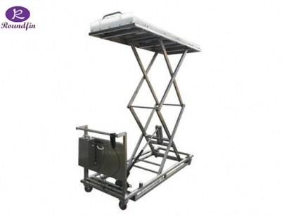 Corpses electrical lifting cart