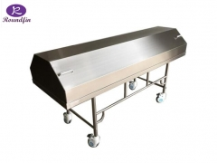 High Quality Mortuary Corpses Transfer Cart with lid RD-1519