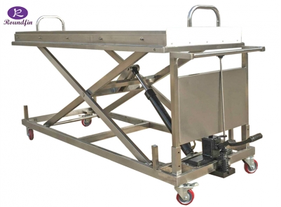 mortuary corpese lifting trolleys