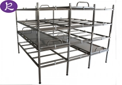 Buy Stainless Steel Morgue Cadaver Shelf Corpse Storage