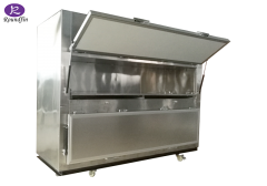 High Quality Funeral supplies morgue equipment cadaver refrigerator corpse cold room