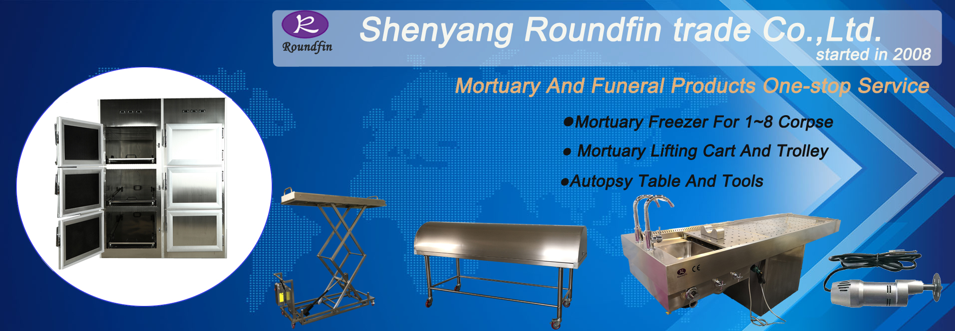 Roundfin brand mortuary products