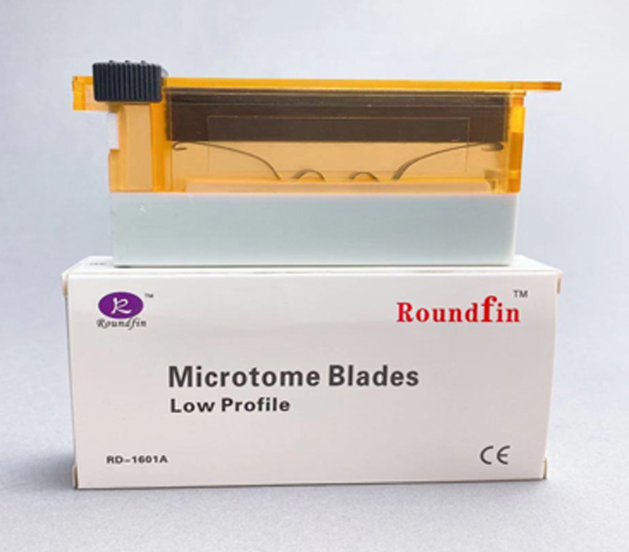 Celebration--Roundfin brand microtome blade has passed CE certificate